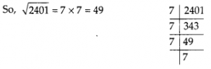 MP Board Class 8th Maths Solutions Chapter 6 Square and Square Roots Ex 6.3 21