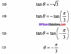 MP Board Class 12th Maths Important Questions Chapter 2 प्रतिलोम त्रिकोणमितीय फलन