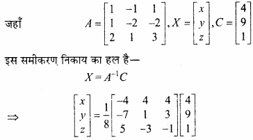 MP Board Class 12th Maths Important Questions Chapter 3 आव्यूह