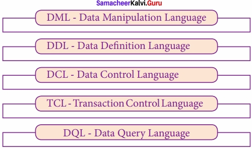 Samacheer Kalvi 12th Computer Science Solutions Chapter 12 Structured Query Language (SQL) img 4