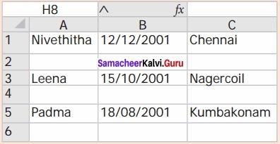 Samacheer Kalvi 12th Computer Science Solutions Chapter 13 Python and CSV Files img 28