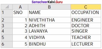 Samacheer Kalvi 12th Computer Science Solutions Chapter 13 Python and CSV Files img 7