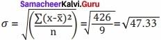 Samacheer kalvi 12th Economics Solutions Chapter 12 Introduction to Statistical Methods and Econometrics img 17