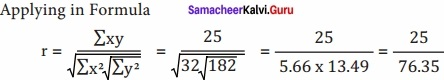Samacheer kalvi 12th Economics Solutions Chapter 12 Introduction to Statistical Methods and Econometrics img 33