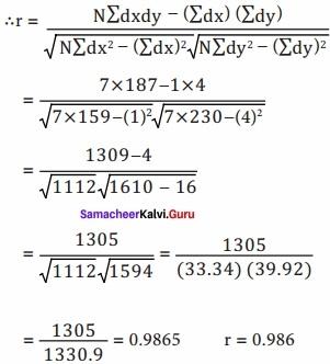 Samacheer kalvi 12th Economics Solutions Chapter 12 Introduction to Statistical Methods and Econometrics img 38