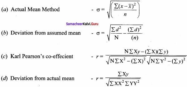 Samacheer kalvi 12th Economics Solutions Chapter 12 Introduction to Statistical Methods and Econometrics img 40