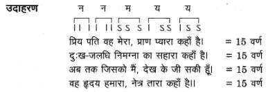 UP Board Solutions for Class 12 Sahityik Hindi छन्द img 11