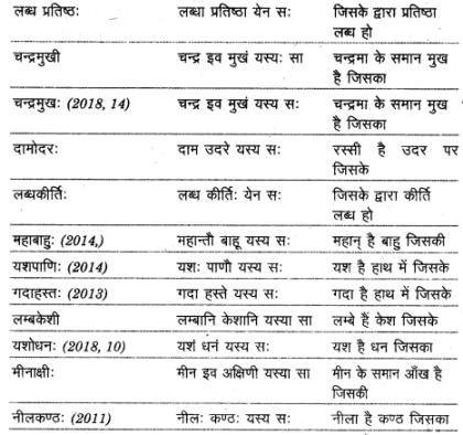 UP Board Solutions for Class 12 Sahityik Hindi संमास img 6